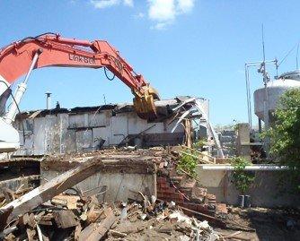 Building Decontamination and Demolition (D&D)